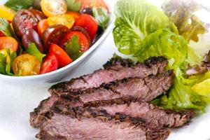 Delicious BBQ Pepper Beef Steak